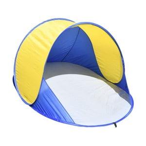 Cort pentru plajă Cattara Ancona, albastru - galben