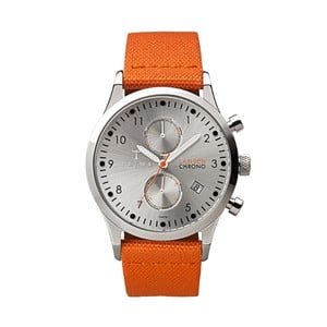 Hodinky Stirling Lanse Chrono Orange Canvas