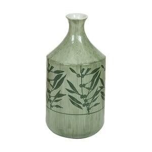 Zelená kameninová váza Santiago Pons Florist, výška 30,5cm