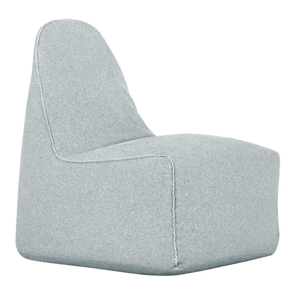 Světle šedý sedací vak Sit and Chill Lounge