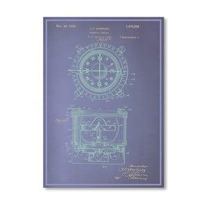 Plakát Magnetic Compass, 30x42 cm