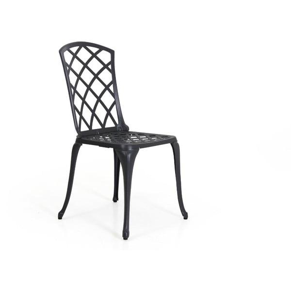 Antracitově šedá zahradní židle Brafab Arras