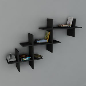 Police Valentino Book Black, 22x140x84 cm