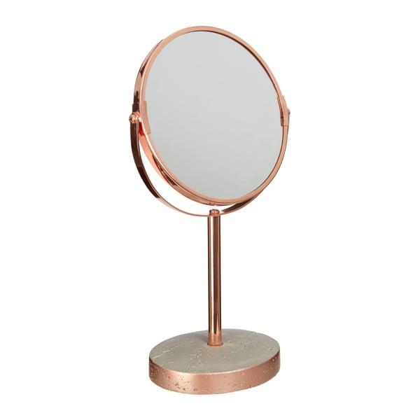 Medené stolové zrkadlo Premier Housewares Madeira