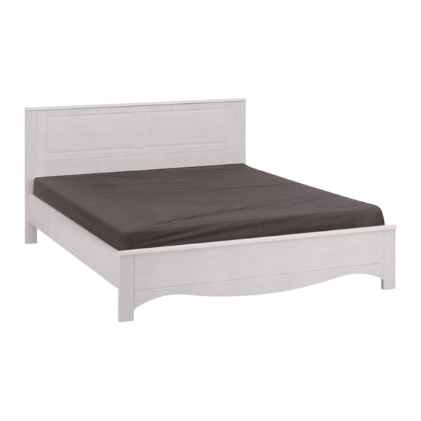 Bílá dvoulůžková postel Artemob Blanca, 160 x 200 cm
