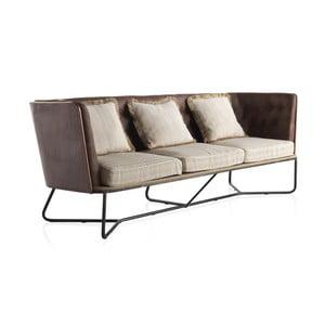 Canapea cu 3 locuri Geese, structură metalică