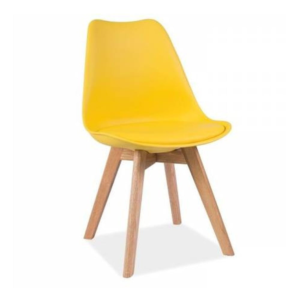 Žlutá židle Vivir Guay