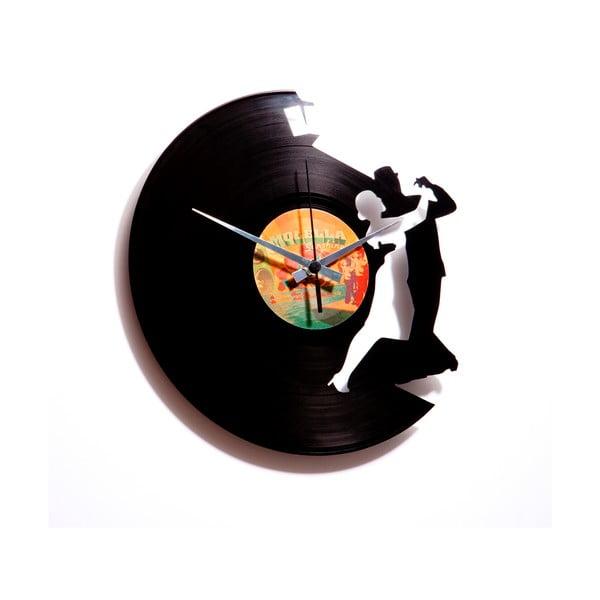 Vinylové hodiny Tango