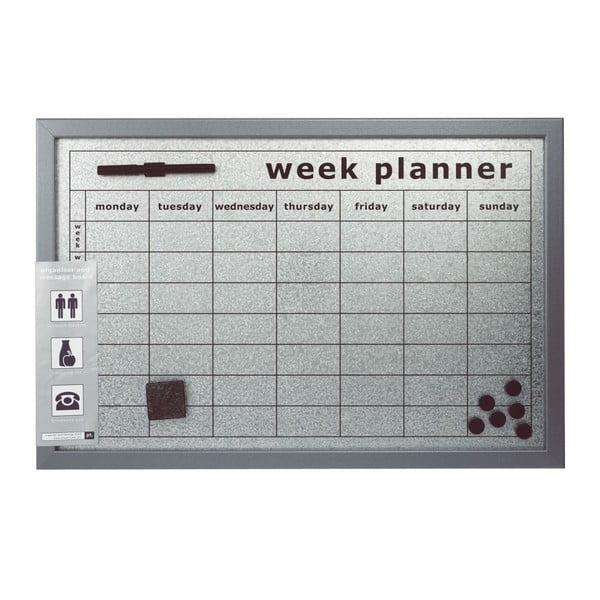 Magnetická tabule Week Planner