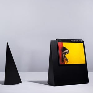 Záložka na knihy, černá
