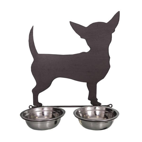 Podwójna miseczka dla psów Antic Line Chiwawa