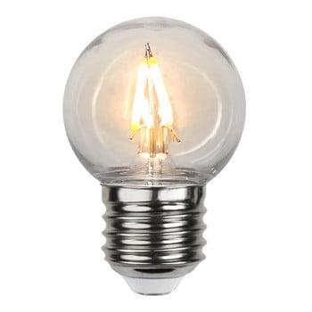 Bec cu LED pentru exterior Best Season Filament E27 G45 imagine
