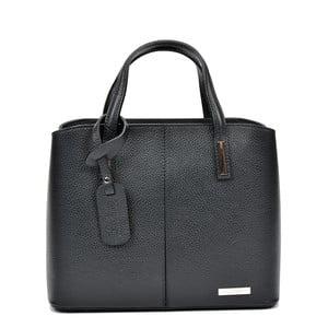 Černá kožená kabelka Sofia Cardoni Lacy