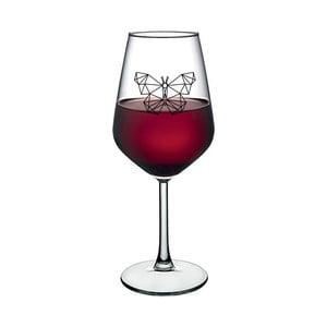 Sklenice na víno Vivas Butterfly, 345 ml