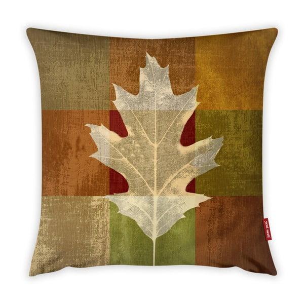 Poszewka na poduszkę Vitaus Autumn Parade Leafe, 43x43 cm