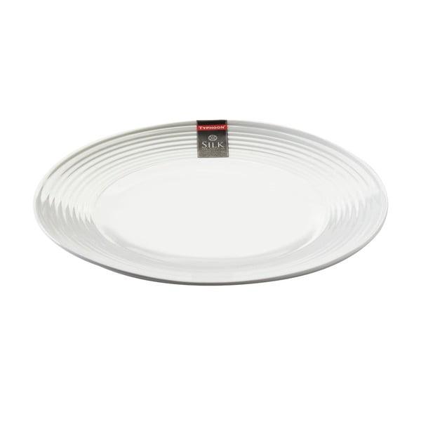 Porcelánový servírovací talíř Plate Silk