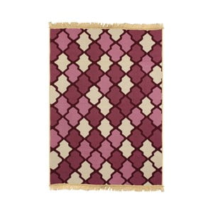 Fialovobéžový koberec Ya Rugs Claret, 120x180cm