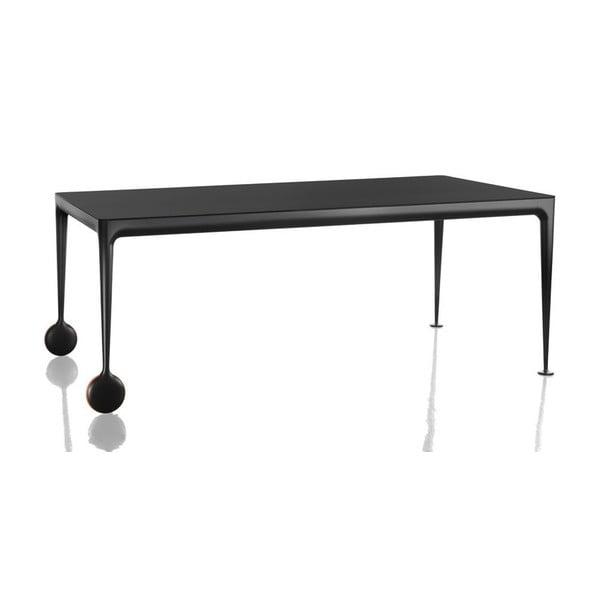 Čierny jedálenský stôl Magis Big Will, dĺžka 200 cm