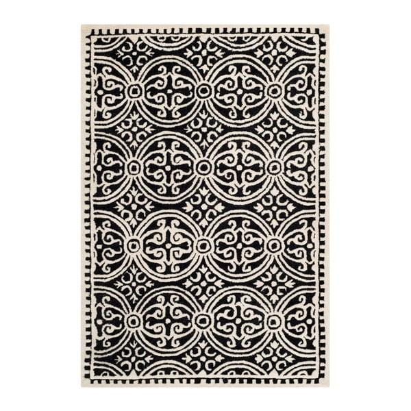 Vlněný koberec Safavieh Marina Night, 91x152 cm