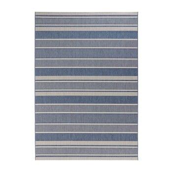 Covor potrivit pentru exterior Bougari Strap, 120 x 170 cm, albastru imagine