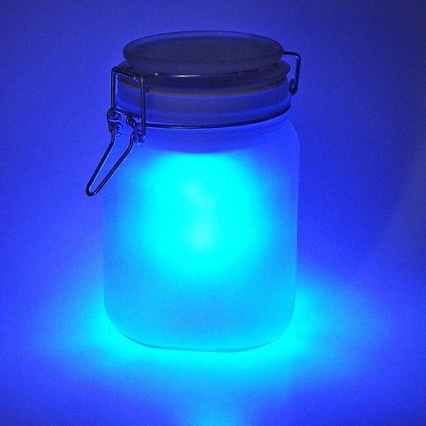 Solární dobíjecí lampička Suck UK Sunjar, modrá