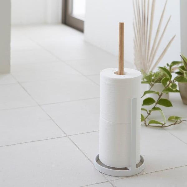 Bílý stojan na náhradní toaletní papíry YAMAZAKI Tosca