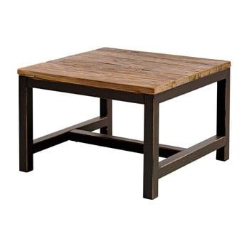 Măsuță cu blat din lemn de elm Interstil Vintage
