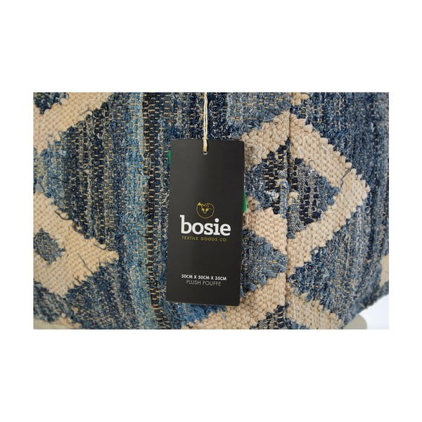 Sedací puf Bosie Blue Aztec