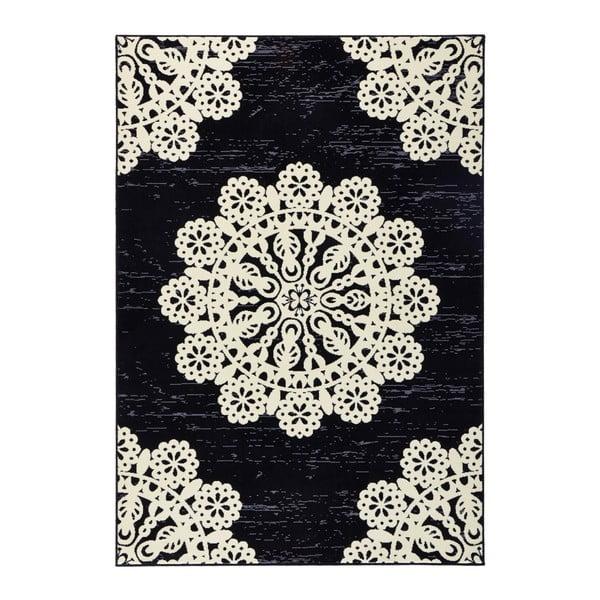 Covor Hanse Home Gloria Lace, 120x170cm, negru