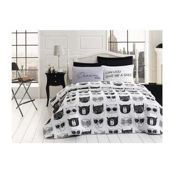 Lenjerie pentru pat dublu Quilted Sakeyso, 200 x 220 cm de la EnLora Home