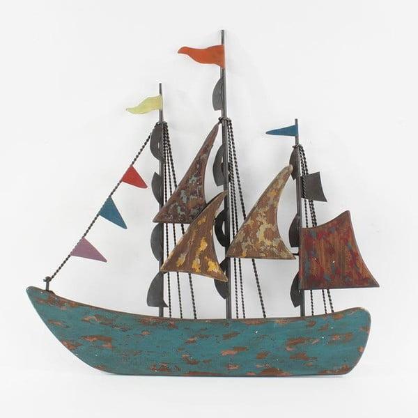 Nástěnná dekorace Plující loď