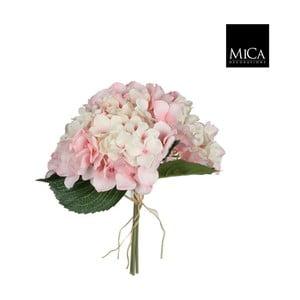 Umělá květina Ego Dekor Růžová hortenzie II