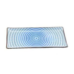 Porcelánový talíř Blue Stripe, 28 cm