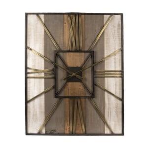 Nástěnné hodiny Clayre & Eef Castrol, 60 x 79 cm