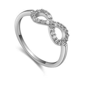 Prsten s krystaly Swarovski Eternity, velikost 52