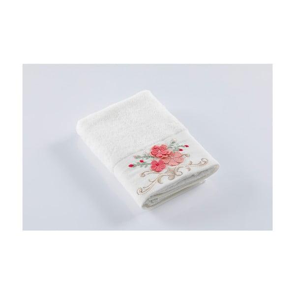 Krémový ručník z bavlny Bella Maison Valerio, 50 x 90 cm