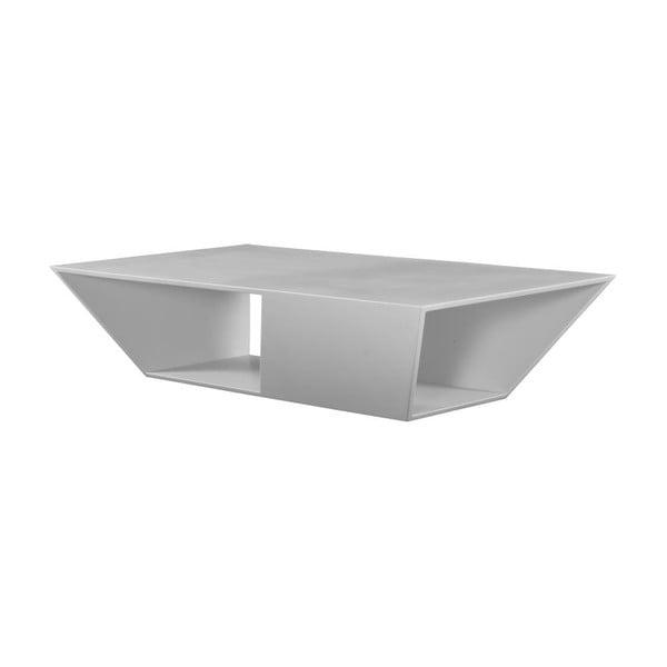 Bílý konferenční stolek vhodný do exteriéru TemaHome Gem