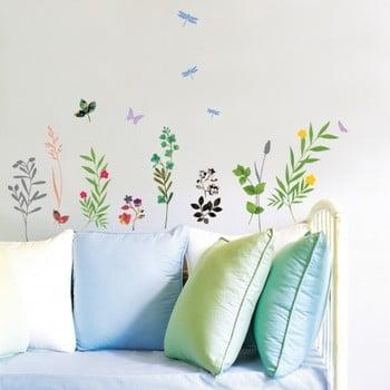 Autocolant Fanastick Grass and Butterflies