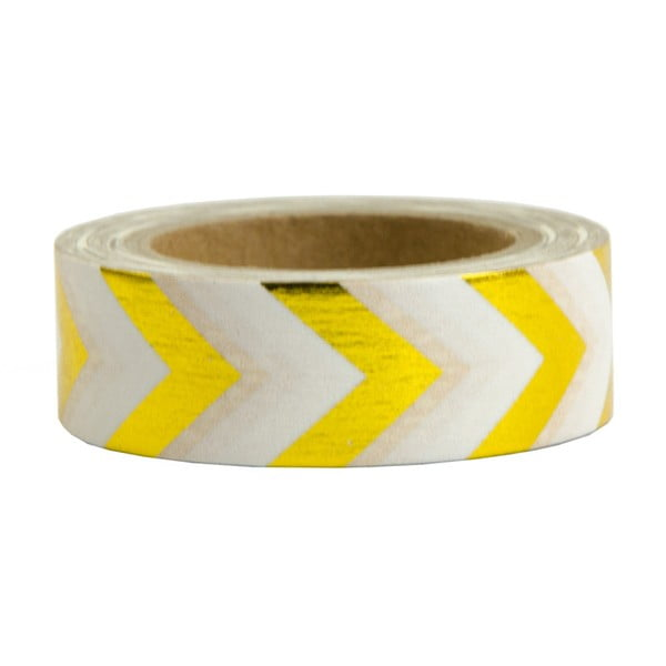 Gold and White washi dekortapasz, 10 m - Ohh Deer