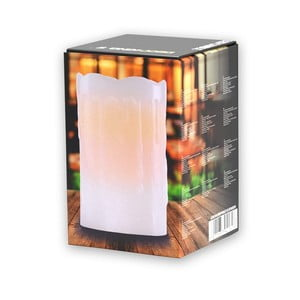 Světelná svíčka DecoKing Subtle Sweet, výška 12,5 cm