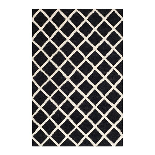 Sophie Black gyapjúszőnyeg, 121 x 182 cm - Safavieh