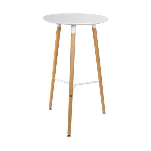 Bílý barový stolek Santiago Pons Soom