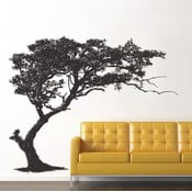 Samolepka na stěnu Černý strom, 60x90 cm