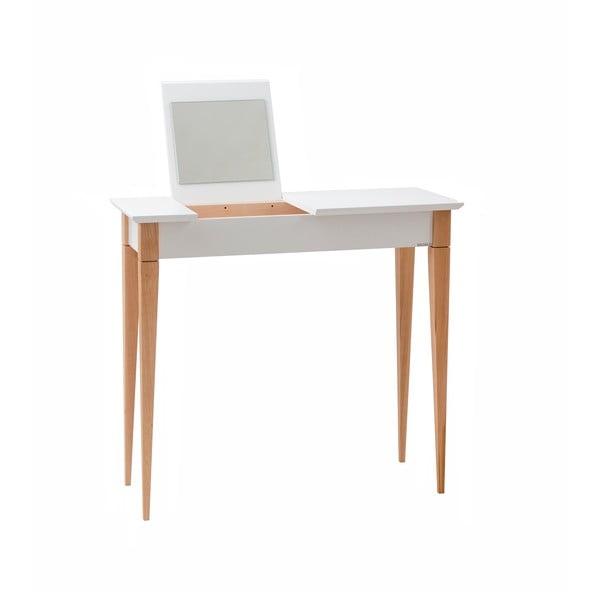 Bílý toaletní stolek Ragaba Mimo, šířka 65 cm