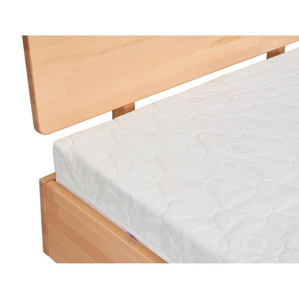 Dvoulůžková postel z masivního bukového dřeva SKANDICA Viveca, 180 x 200 cm