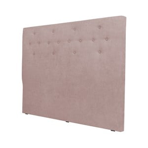Světle růžové čelo postele Cosmopolitan design Barcelona, šířka162cm