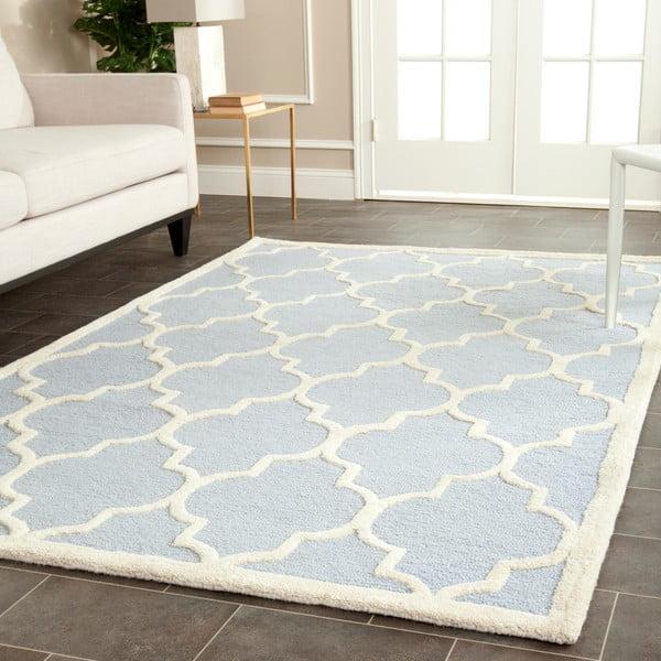 Vlněný koberec Safavieh Lola Sky, 152x243cm