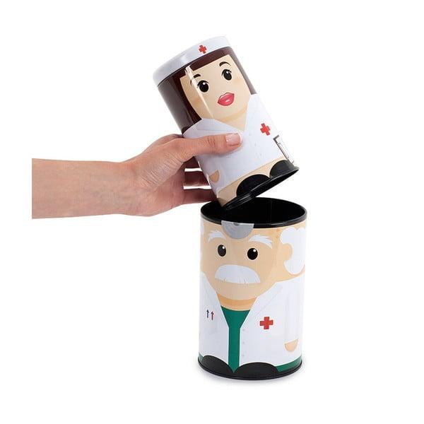 Nádobky na léky Dr & Nurse, 2 ks