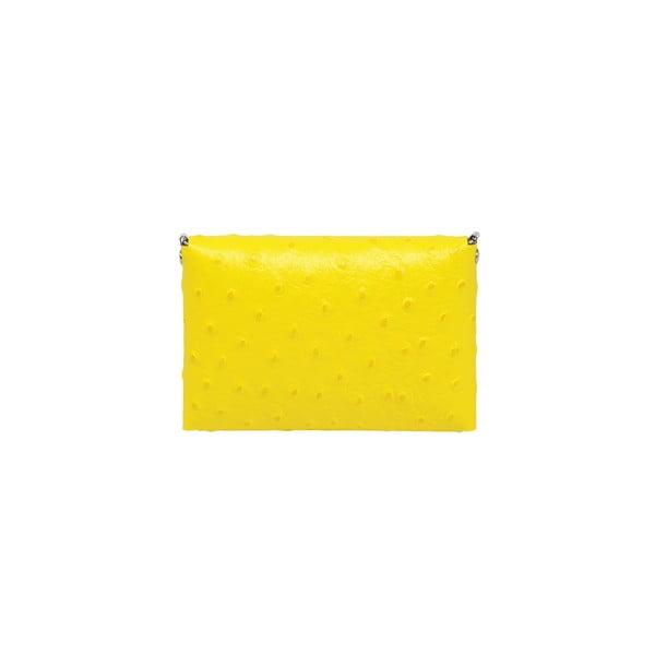 Kožené psaníčko Pochette Yellow
