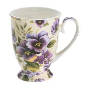 Šálek z kostního porcelánu Maxwell & Williams Royal Old England Pansy, 300 ml